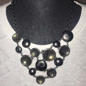 Jewelry - Slate Grey Rhinestone Necklace